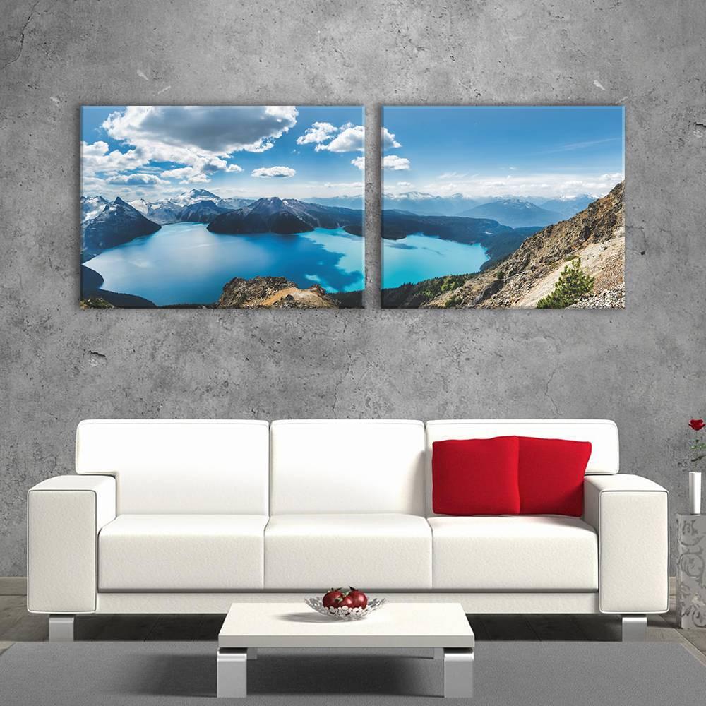 Foto op canvas - natuur - 2N2