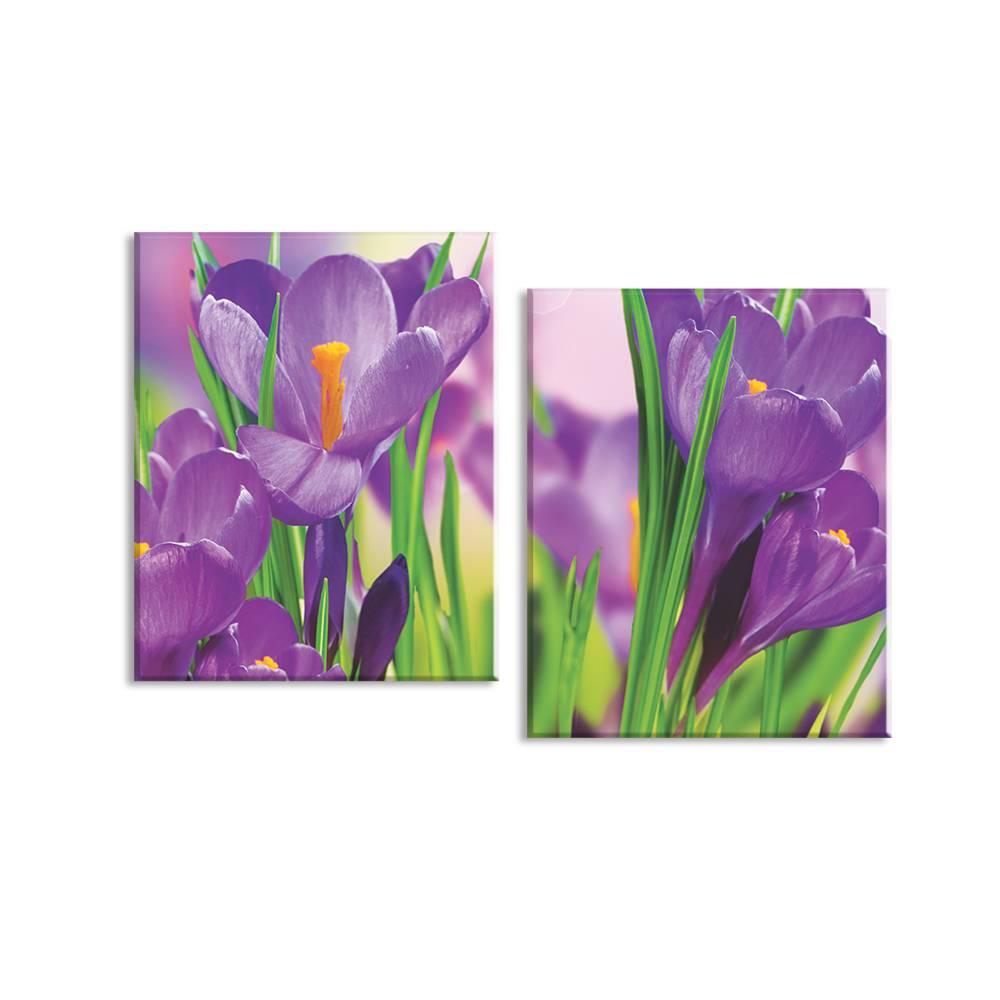 Foto op canvas - bloemen - 1F2