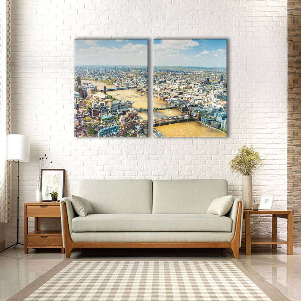 Foto op canvas - stad - 3C2