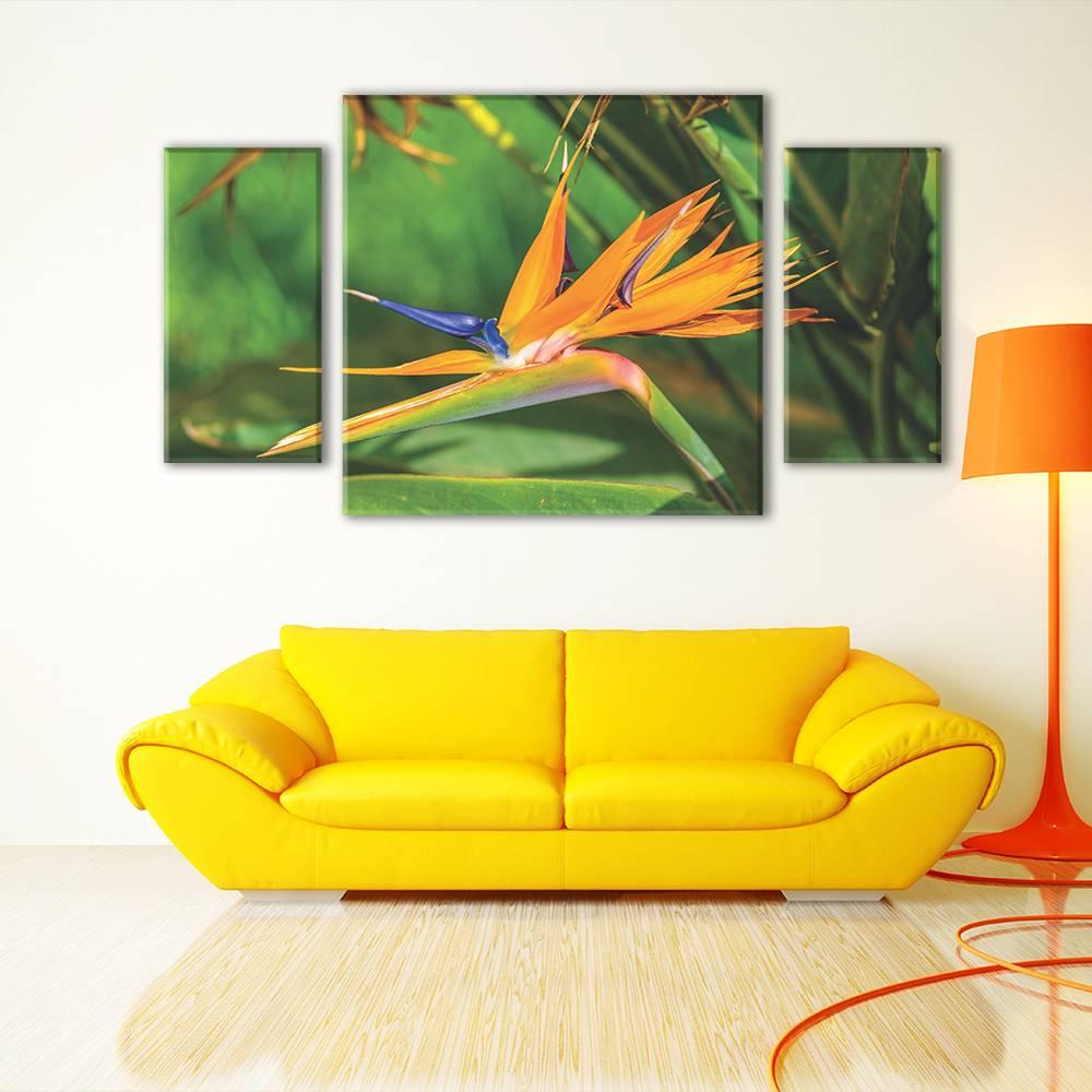 Foto op canvas - bloemen - 1F3