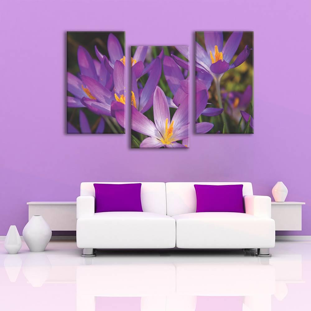 Foto op canvas - bloemen - 2F3