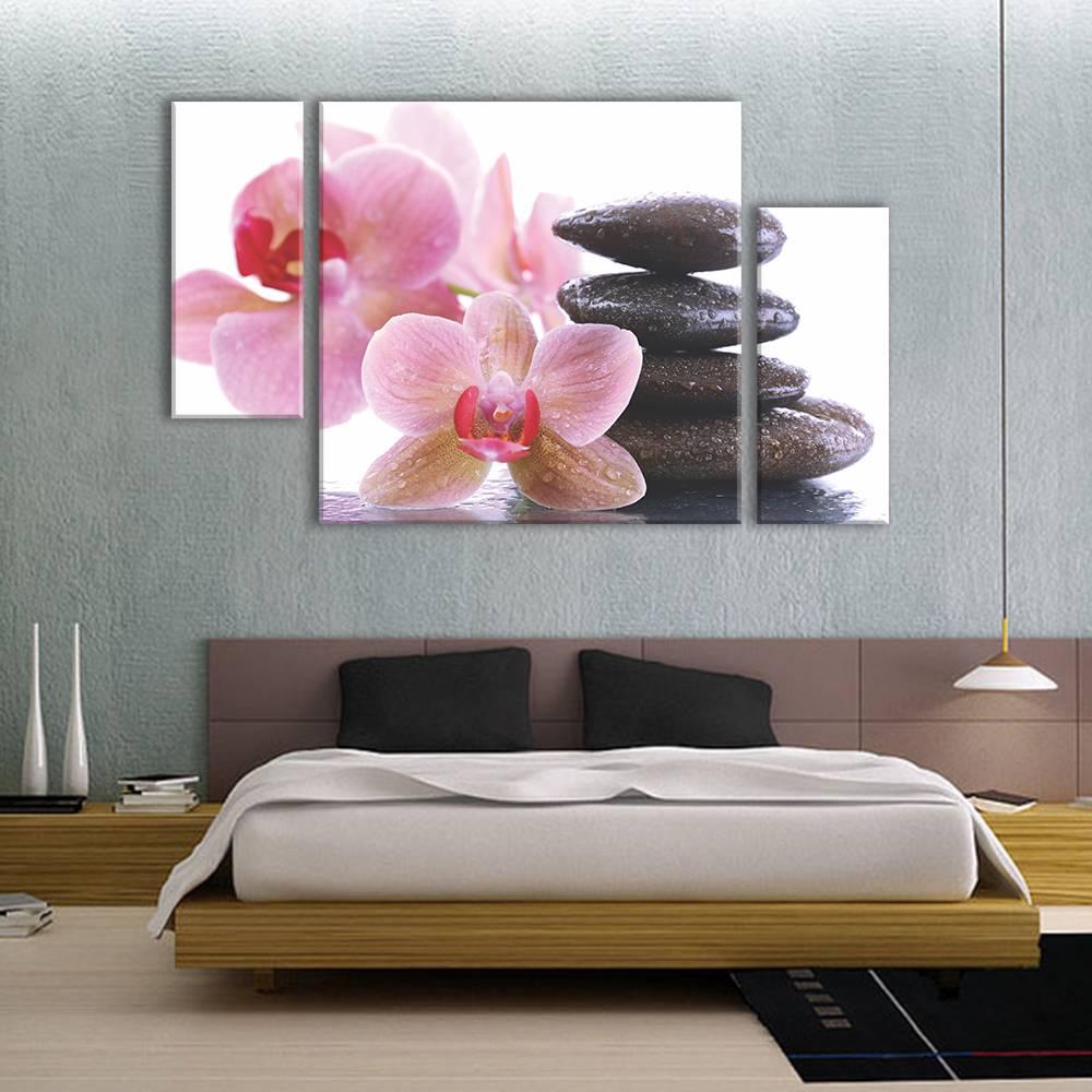 Foto op canvas - bloemen - 3F3
