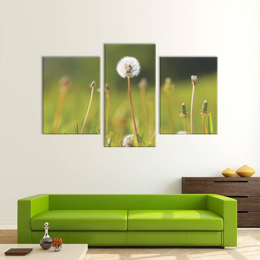 Foto op canvas - bloemen - 4F3
