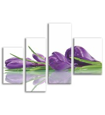 Foto op canvas - bloemen - 1F4