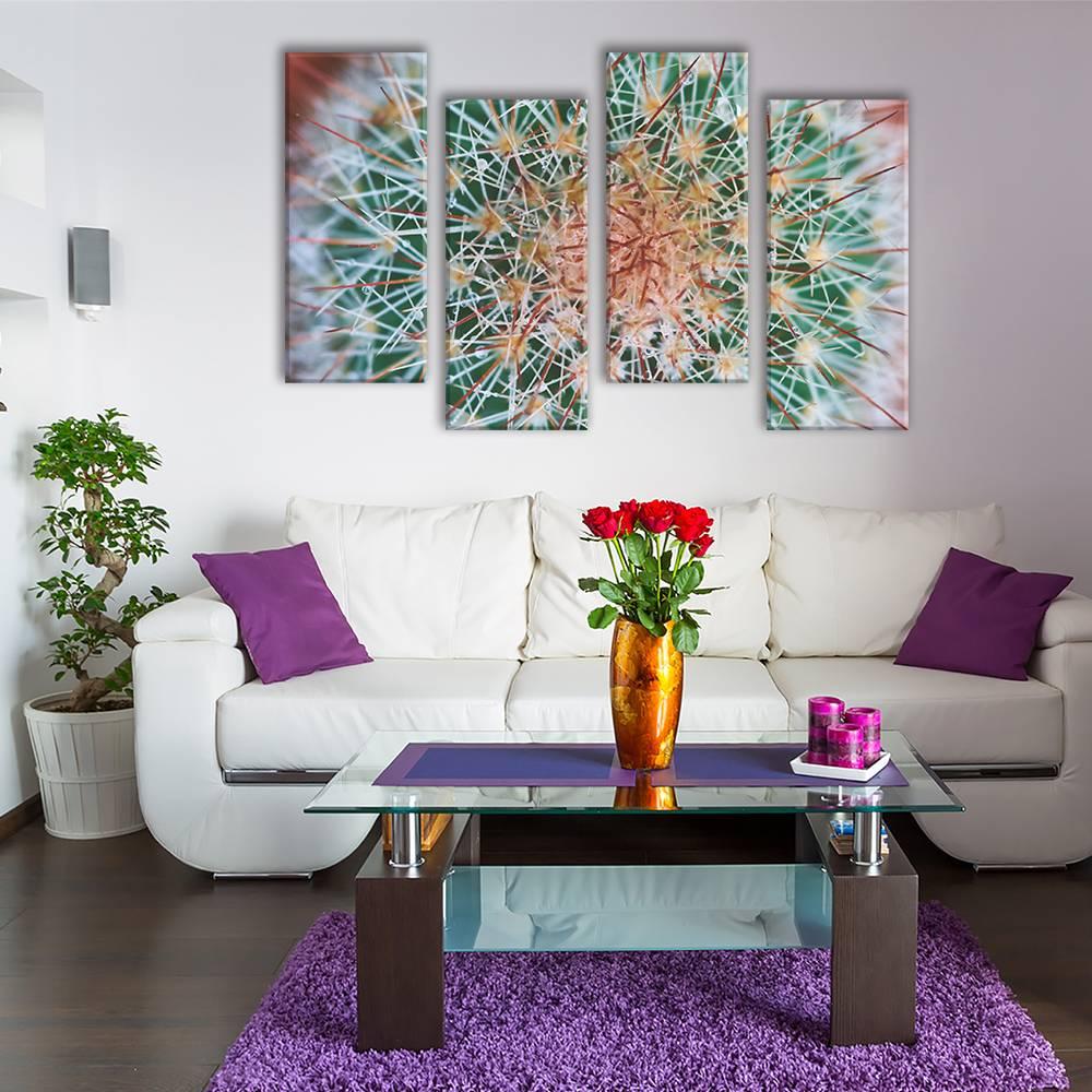 Foto op canvas - bloemen - 2F4