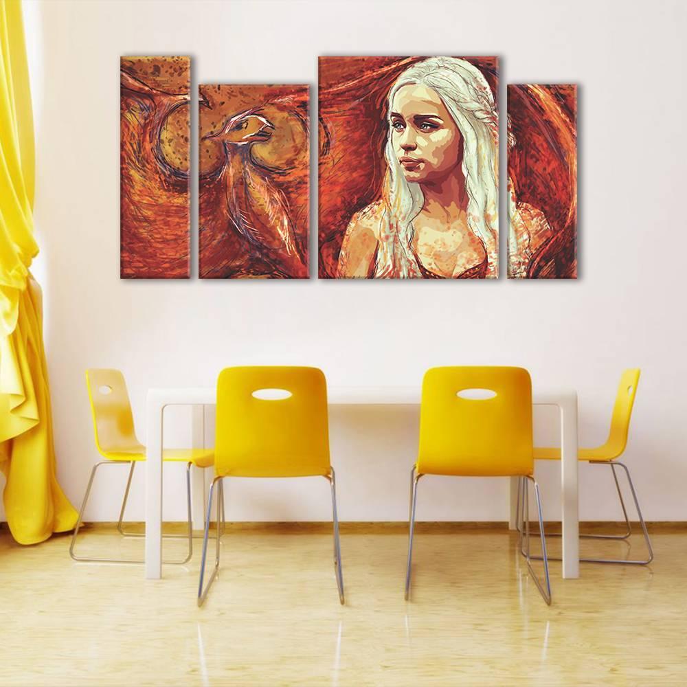Foto op canvas - kunst - 2A4