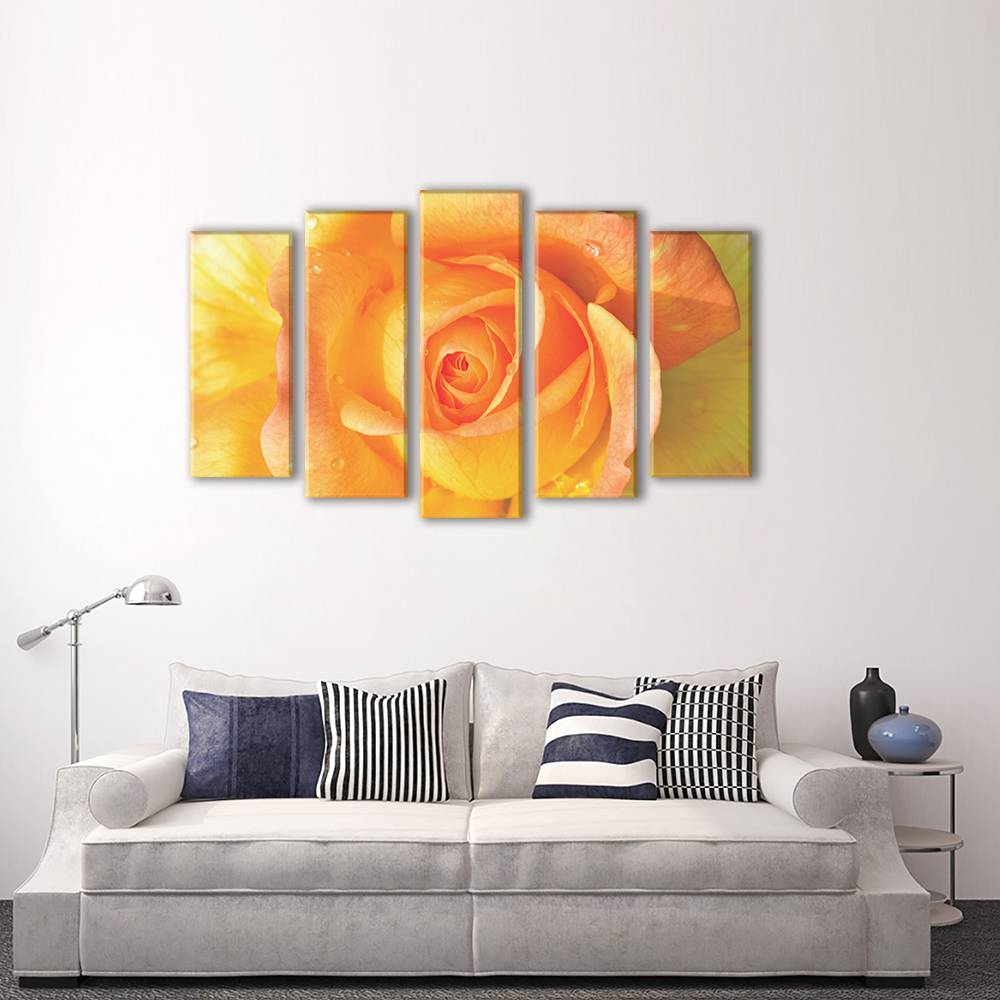 Foto op canvas - bloemen - 2F5