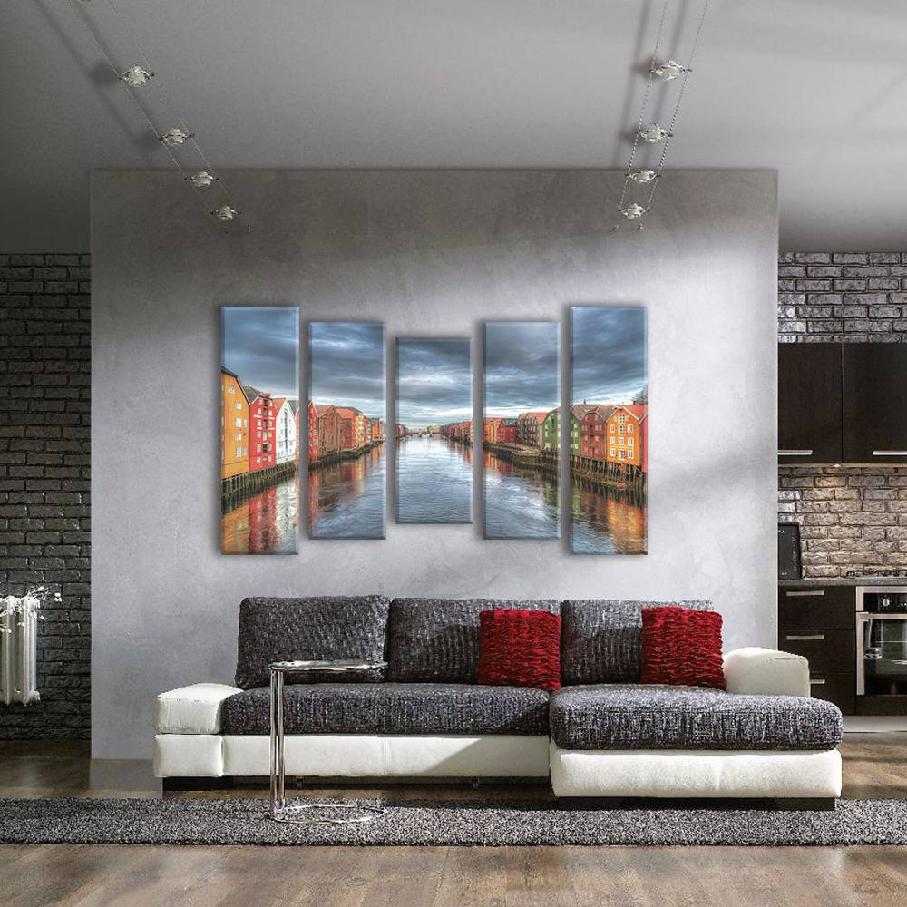 Foto op canvas - stad - 2C5