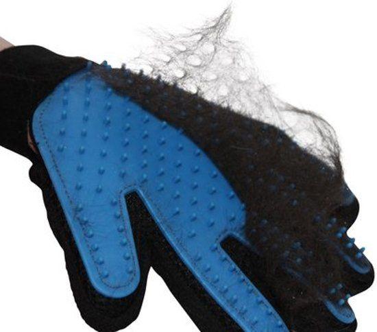 Vacht verzorgingsborstel / handschoen voor huisdieren