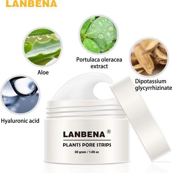 Reinigende gezichtsmasker om poriën te reinigen