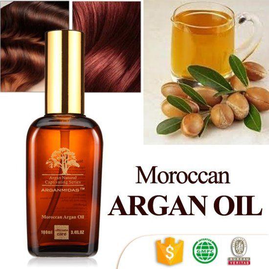 Arganmidas Argan haarolie en lichaamsolie