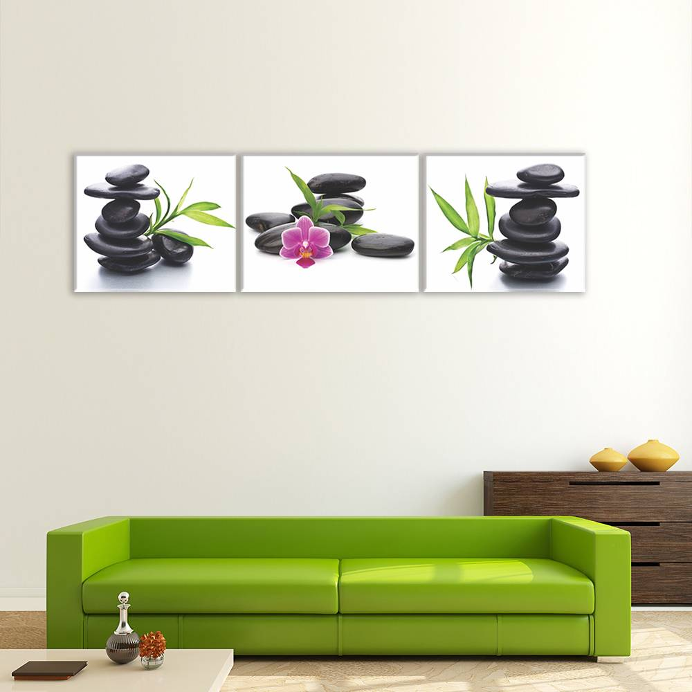 Foto op canvas - bloemen - 5F3