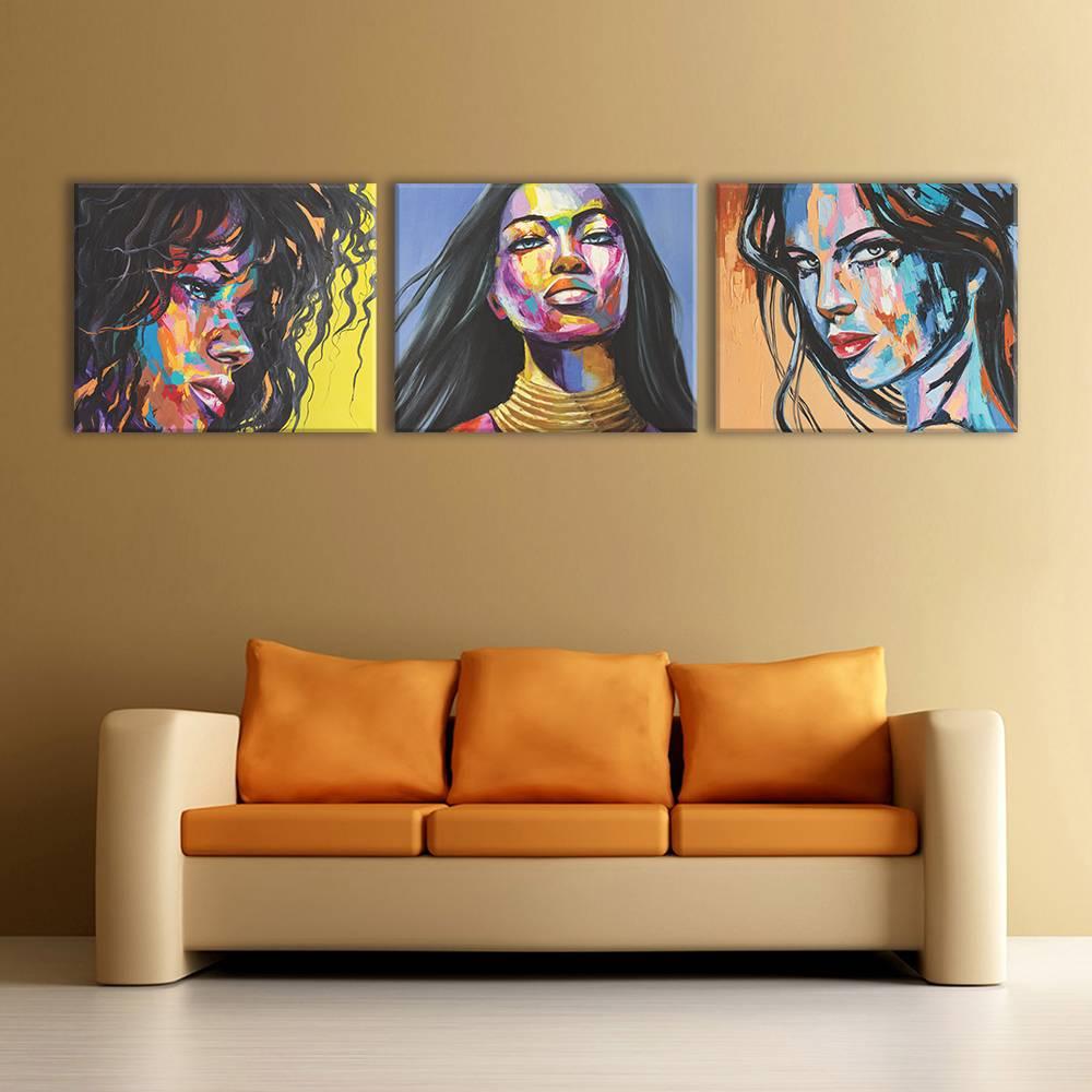 Foto op canvas - kunst - 5A3