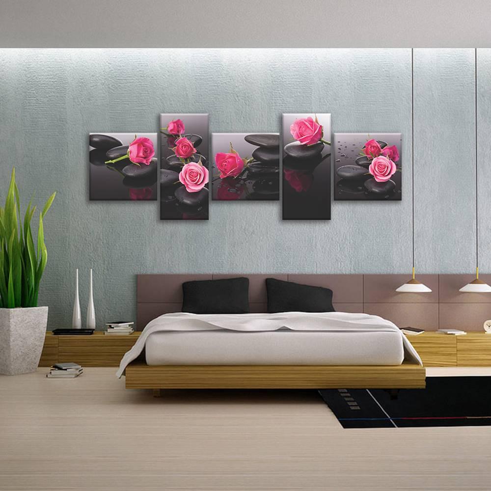 Foto op canvas - rozen - 4F5