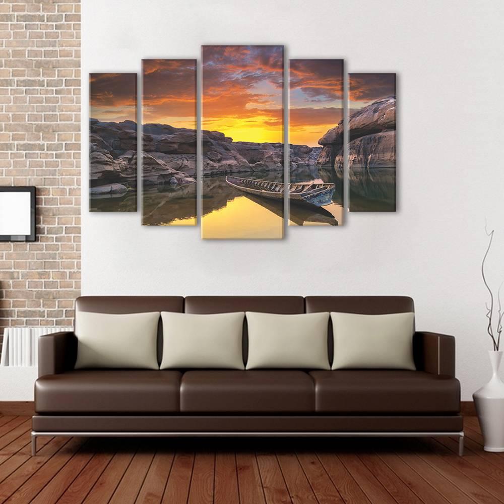 Foto op canvas - zonsondergang - 3N5