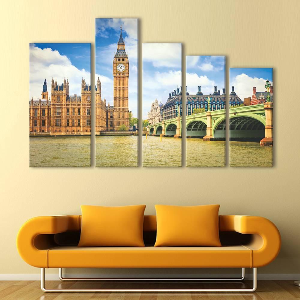 Foto op canvas - London - 3C5