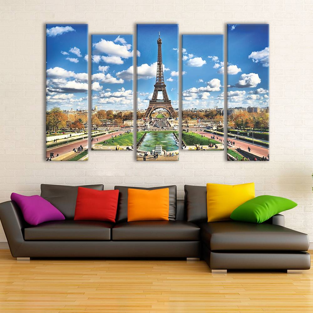 Foto op canvas - Parijs / Eiffeltoren - 4C5