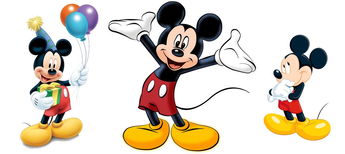 Mickey Mouse - muurdecoratie / wanddecoratie voor kinderen