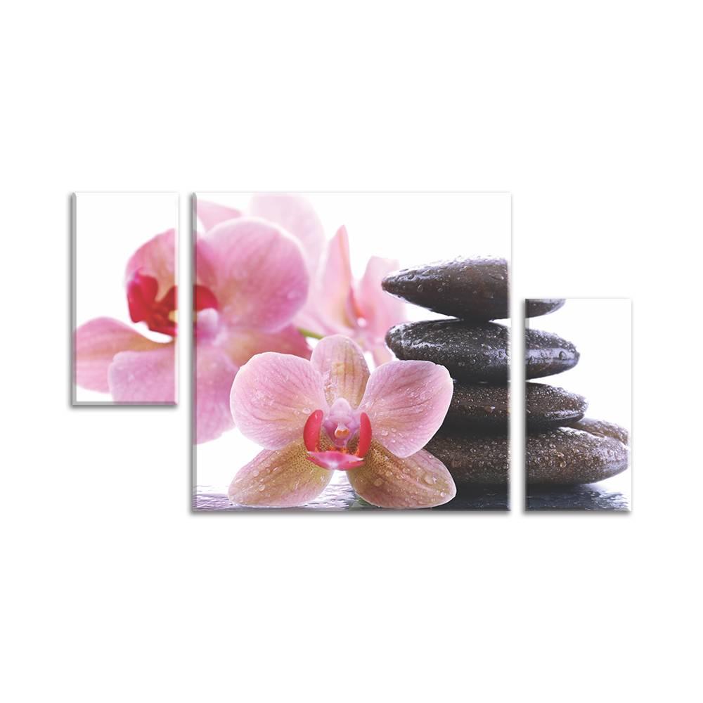 Foto op canvas van bloemen - muurdecoratie / wanddecoratie