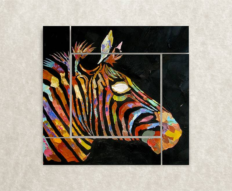Foto op canvas van paard
