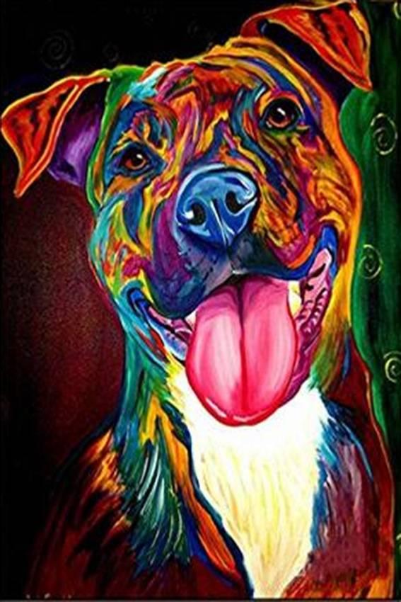 Diamond Painting / Diamant Schilderij - Hond - DM9
