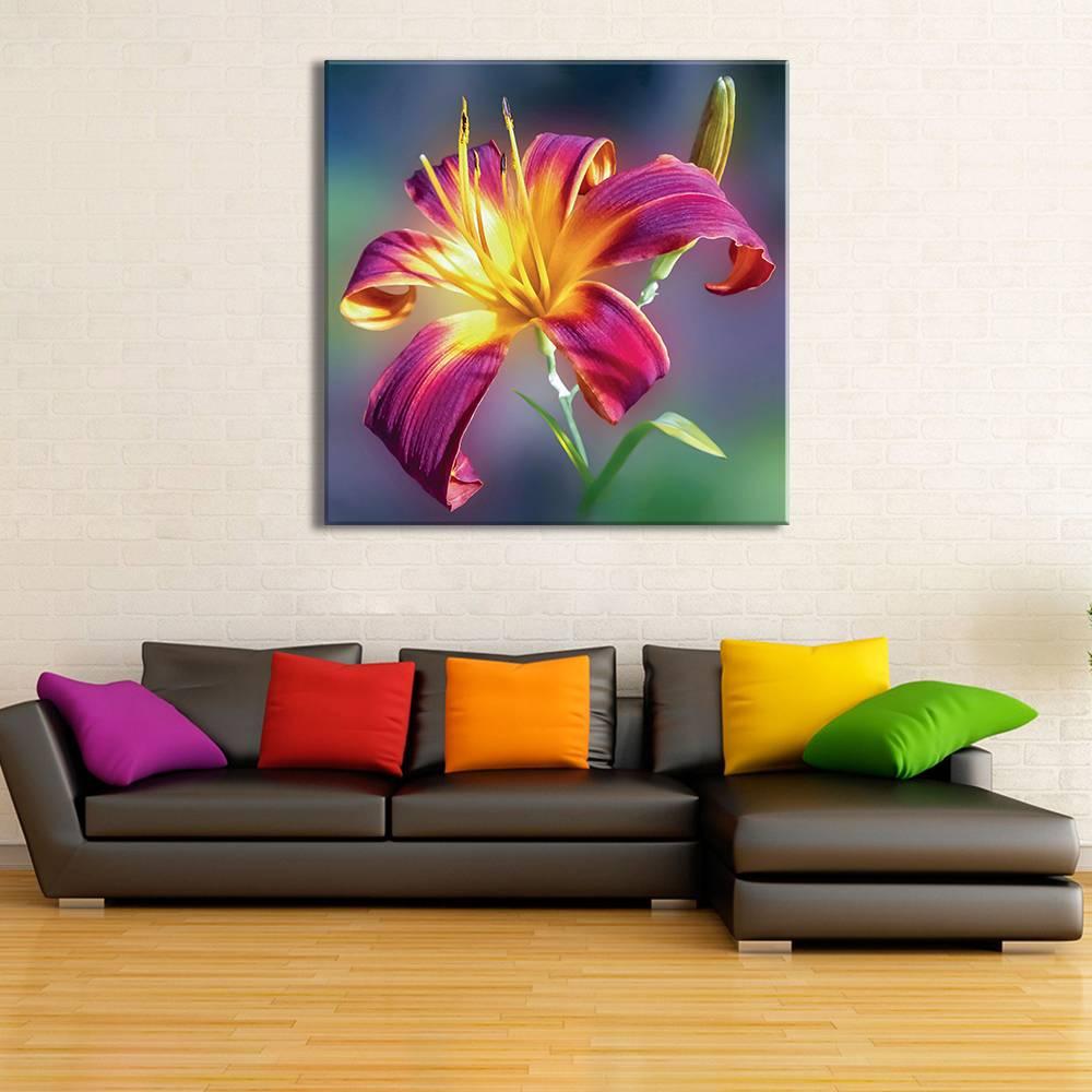 Foto op doek - bloemen - 8F1