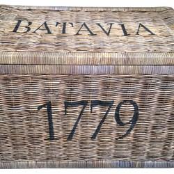Rieten Opbergmand Batavia - 80x50xH50 cm