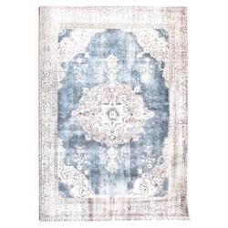 Vloerkleed Florence Beige/Blauw - 200x290 cm