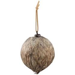 Kerstbal Harlow Stof - Ø8xH8 cm