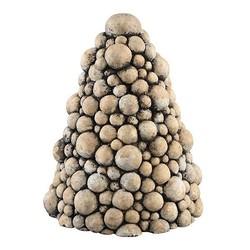Kerstboom Flux Cement - Ø19xH25 cm