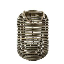 Rotan Windlicht Cilinder - Ø28xH40 cm