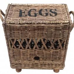 Rieten eiermand 12 stuks - Eggs