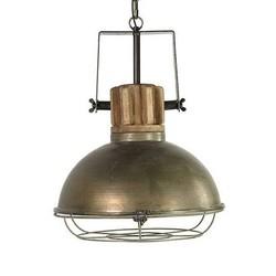 Hanglamp Etiënne Grijs Rond - 52x53xH56 cm