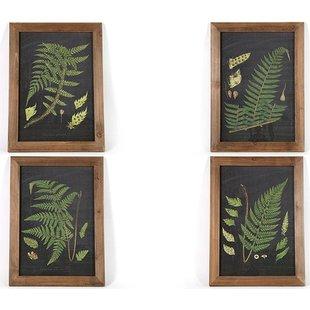 Schilderij Varens - 40x2xH55 cm