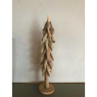 Houten kerstboom - Ø13xH60
