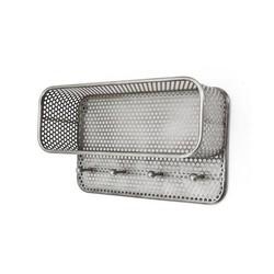 Metalen Wandkapstok - 57x21xH32 cm