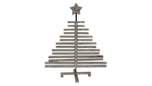 Houten kerstbomen