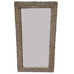 Rieten spiegel M - 77x52 cm