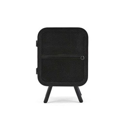 Zwarte Metalen Kastje Rubix - 40x35xH60 cm