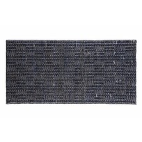 Jute Soft Vloerkleed Scenes Zwart - 70x140 cm