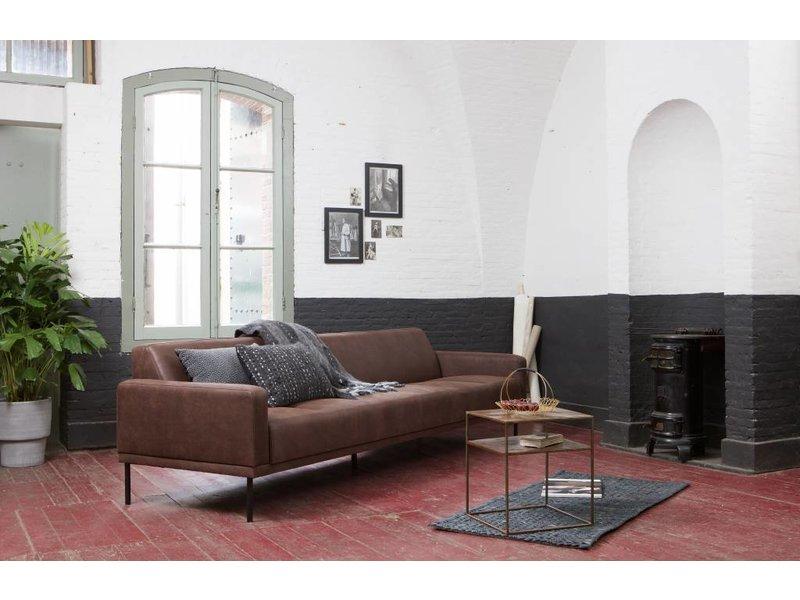 BePureHome Jute Soft Vloerkleed Scenes Zwart - 70x140 cm