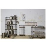 BePureHome Metalen Decoratie Bus Barrel - Ø15xH28 cm