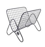 GeWoon Grijs Metalen Tijdschriftenrek - 38x28xH31 cm
