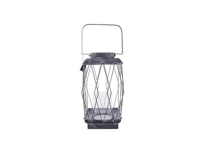 GeWoon Metalen Windlicht Thom - 19x19xH33 cm