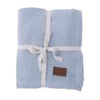 Blauw Plaid Zara - 130x170 cm