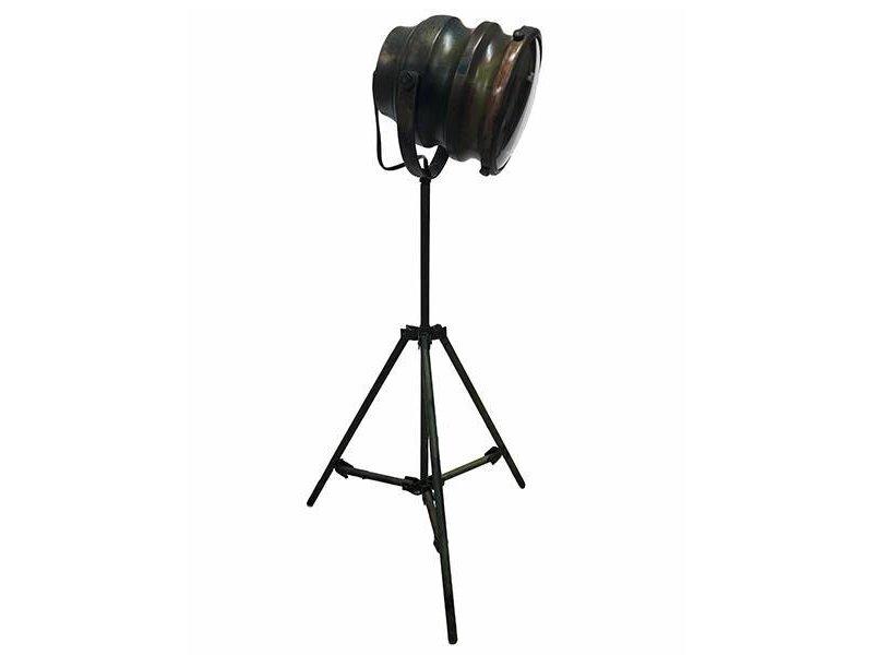 GeWoon Metalen Tafellamp Groen - 37x37xH75 cm
