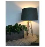 GeWoon Lampenkap Vintage Olijf - Ø35xH22 cm