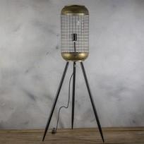 Metalen Vloerlamp Kooi - Ø24,5xH115 cm