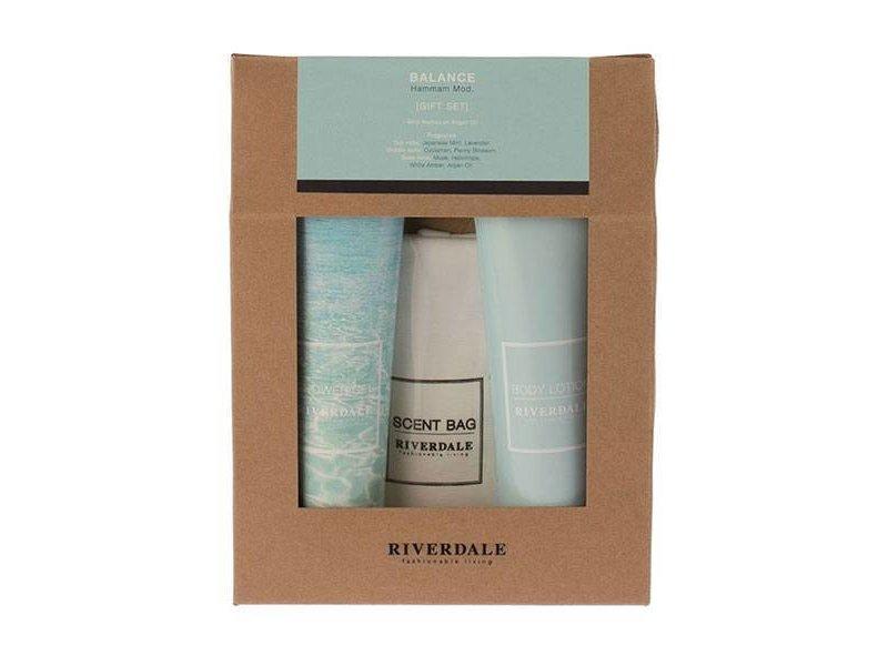 Riverdale Cadeauset Balance - 16x4,5xH21,5 cm