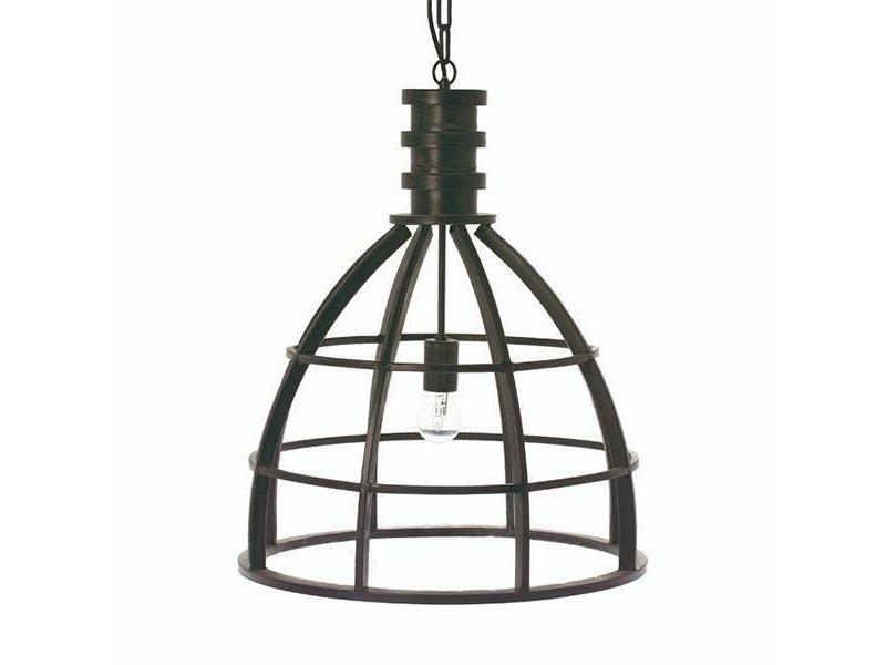 Riverdale Hanglamp Boston Zwart - Ø50xH60 cm